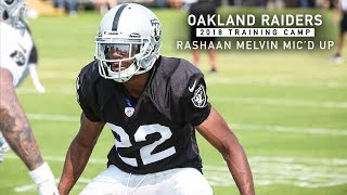 Mic'd Up: Rashaan Melvin at 2018 Training Camp