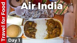 Bangkok to Mumbai on Air India (Food Review)