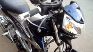 For Sale Kawasaki Fury 125 blue.AVI
