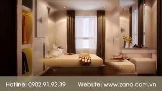 Thiết kế nội thất phòng ngủ đẹp, hiện đại, sang trọng, tiện nghi tại TP.HCM