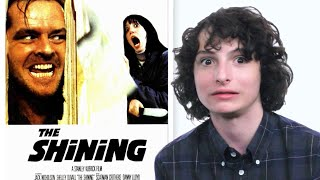 """It"" & ""Stranger Things"" Star Finn Wolfhard Tests His '80s Horror Film Knowledge 