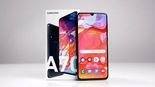 Unboxing: Samsung Galaxy A70 (Deutsch)   SwagTab