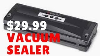 Vacuum Sealer for only $29.99