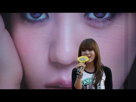 2010-07-10 丁噹 - 我是一隻小小鳥【下一站天后】 簽唱會 in 台南 南方公園