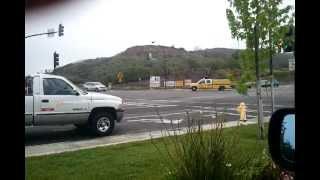 Ventura County Fire Department responding