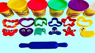 Play Doh Play and Learn Colors and Numbers with Play Doh for Kids