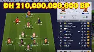 FIFA ONLINE 4, ĐH Khủng giá 210,000,000,000 BP của Eric Mun với Ronaldo béo TC +8 ICON +5