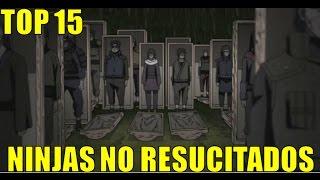 15 NINJAS QUE DEBIERON SER RESUCITADOS EN LA CUARTA GUERRA NINJA | Loquendo