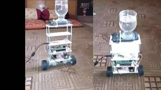 Two Wheel Self Balancing Robot Using LQR and PID Controller