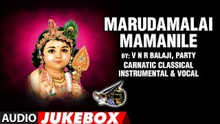 Marudamalai Mamanile - V N R Balaji,Party   Carnatic Classical Instrumental-Vocal   Kannada Folk