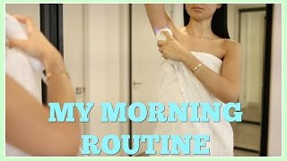My Morning Routine + Update On Hair Removal | Diana Saldana