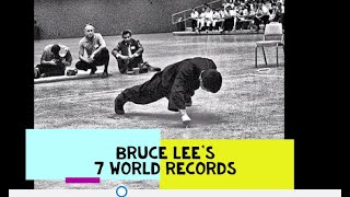 Bruce Lee 7 World Records