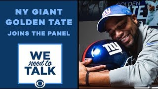 Golden Tate: Being a GIANT is a dream come true | We Need to Talk