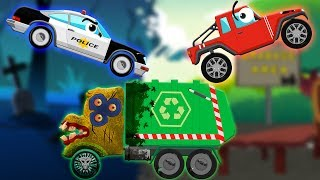 Helping Hand   Police Car   Scary Garbage Truck   Jeep