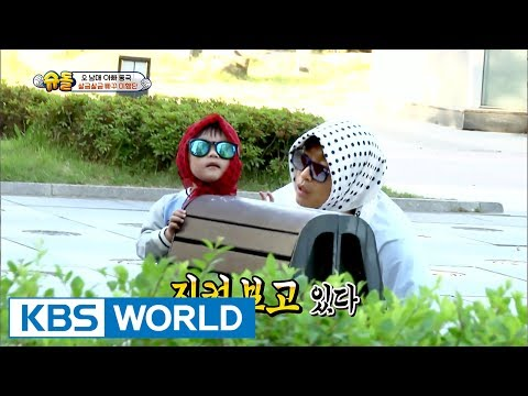 Sneaking~ Daebak and his dad in a spy mission! [The Return of Superman / 2017.07.16]
