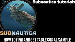 Subnautica crafting how to make a computer chip for Table coral sample