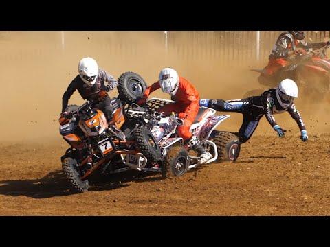 Crazy Holeshot Crash in Pro Sport - 2021