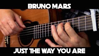 Kelly Valleau - Just The Way You Are (Bruno Mars) - Fingerstyle Guitar