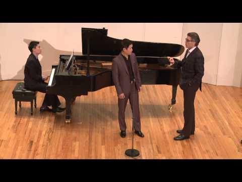 2015 Thomas Hampson Voice Masterclass