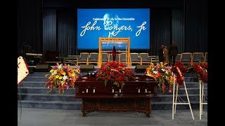 John Conyers Funeral