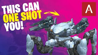 War Robots - NEW JAEGER One Shot Kill Sniper Build With Gauss Weapon WR Max Gameplay