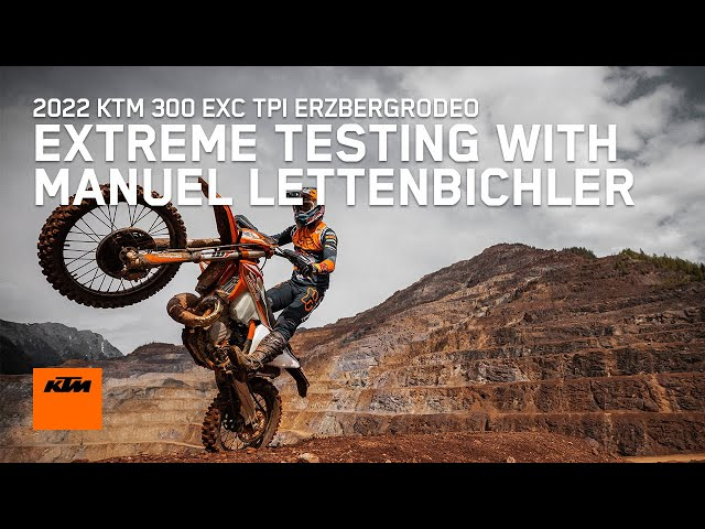Lettenbichler teste la 300 EXC ERZBERGRODEO 2022