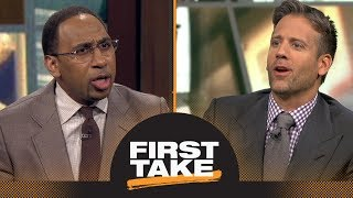 Stephen A. and Max react to Jerry Jones' comments on national anthem policy | First Take | ESPN