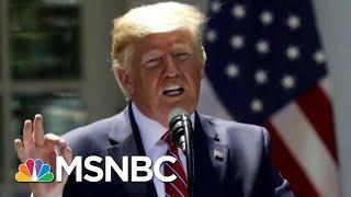 President Donald Trump Says U.S. Was Ready To Retaliate Against Iran   Velshi & Ruhle   MSNBC