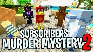 The First Ever SUBSCRIBER MURDER MYSTERY !! (Does it work?)