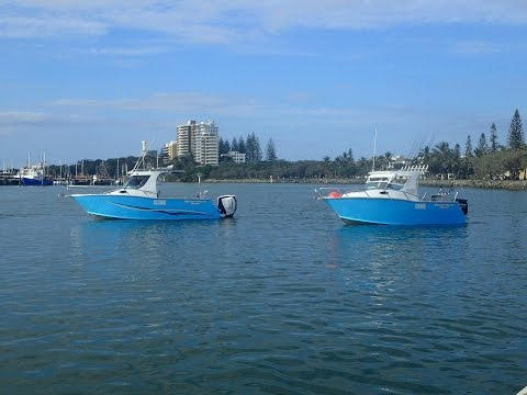 Offshore Marine master 610 boat test