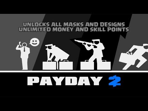 - Payday 2 Hack - Unlimited Spending Cash, Offshore Cash, Skill Points, and All Masks