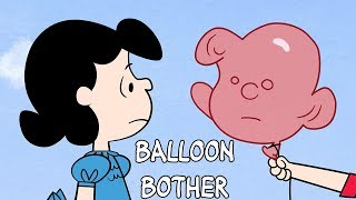 Snoopy | Balloon Bother | BRAND NEW Peanuts Animation | Videos for Kids
