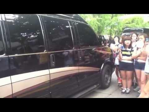 [120727] Super Junior arriving at KBS