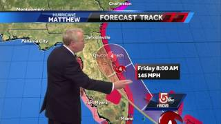 Tracking Matthew: Storm now Cat 4, still headed to Florida