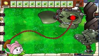Plants vs Zombies Minigames Zombotany 2 - 1 Cattail vs Dr. Zomboss