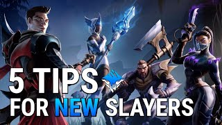 Dauntless Beginner Guide - 5 Tips for New Slayers - Dauntless Patch 0.8.0