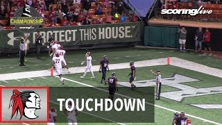 Kahuku vs. Saint Louis: T. Lefau, 6-yd TD pass from S. Maiava - HHSAA D1-Open Championship (2017)