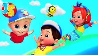 Swing Song | Junior Squad Cartoons For Children | Nursery Rhymes For Babies