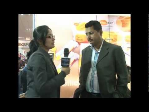 Dr. Subhro Mitra from DPI in Expodent International 2012