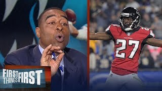 Nick and Cris on the Falcons' 26-13 win over the Rams in NFL Playoffs | FIRST THINGS FIRST