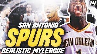 ZION IS UNSTOPPABLE! | NBA 2K20 SAN ANTONIO SPURS MYLEAGUE
