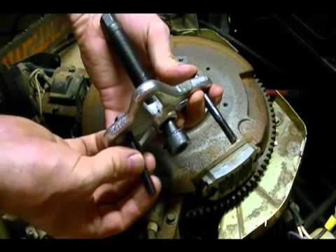 Small Engine Repair How To Remove A Flywheel From A