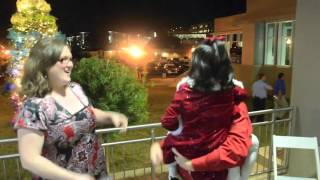 Mike About Town visits the USA Children's & Women's Hospital Christmas tree lighting