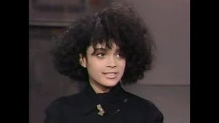 Lisa Bonet on Letterman 1986