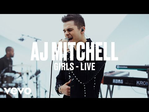 AJ Mitchell - Girls (Live) | Vevo DSCVR ARTISTS TO WATCH 2019