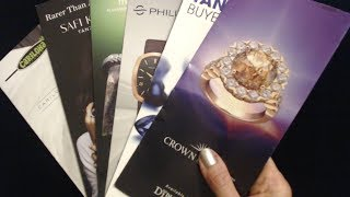 ASMR Whisper | Jewelry Brochures Show & Tell