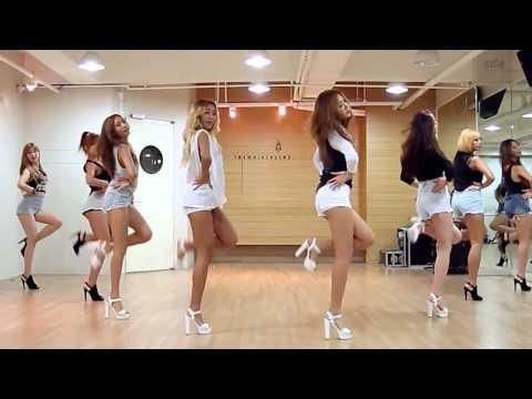 SISTAR - I Swear - mirrored dance practice video - 씨스타  아이 스웨어
