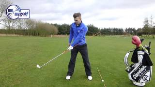 Golf Drill - Swing On Plane In The Backswing