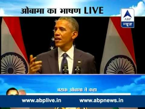Obama's Delhi speech on religious tolerance and Indo-US partnership - Full Take