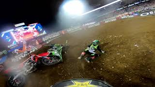 GoPro: Dean Wilson 450 Main Event Highlights 2019 Monster Energy Supercross from Nashville